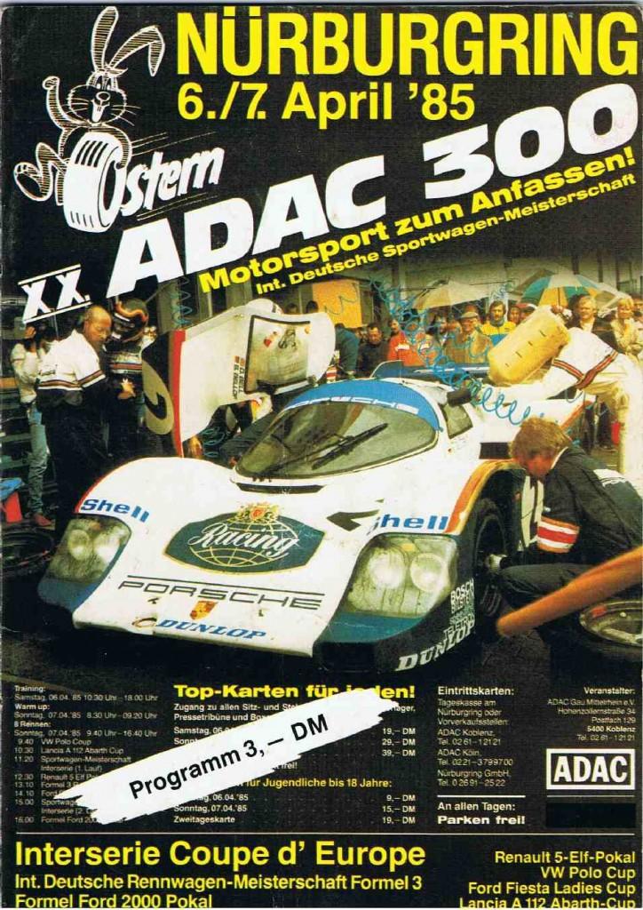 1985 ADAC 300 NR 0001